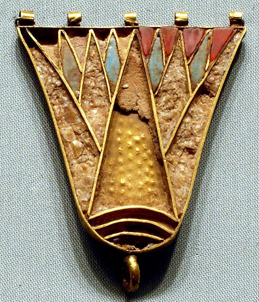 Lotus Counterpoise Period: New Kingdom Dynasty: Dynasty 18 Reign: reign of Thutmose III Date: ca. 1479–1425 B.C.