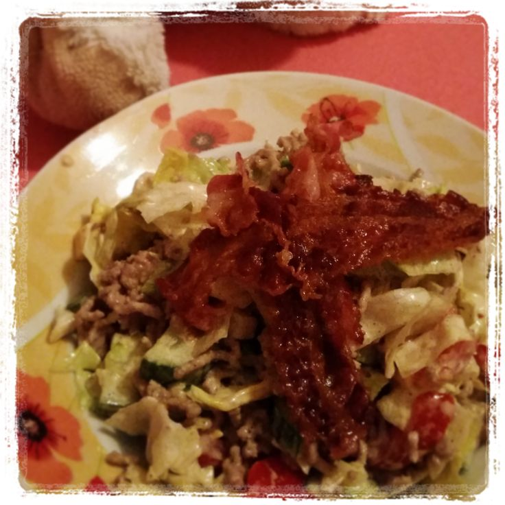Big Tasty Bacon Salat