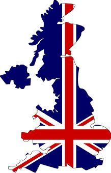 Egyesült Királyság, Anglia, Térkép