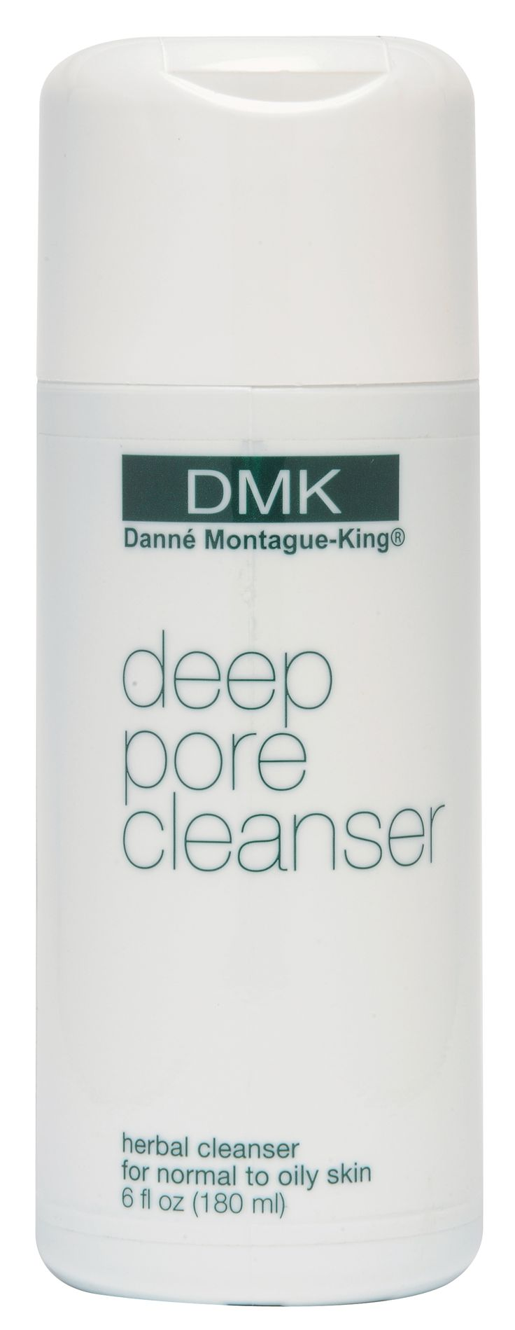 DMK - Deep Pore Cleanser - Recommended for normal to oily skin, Deep Pore Cleanser is a botanical, non-alkaline cleanser that is designed to cleanse the skin without drying. Formulated with natural astringent and antibacterial ingredients, Deep Pore Cleanser flushes embedded impurities and helps keep the pores tight. May also be used as a shaving cream for men. Available in 180ml and 60ml sizes.
