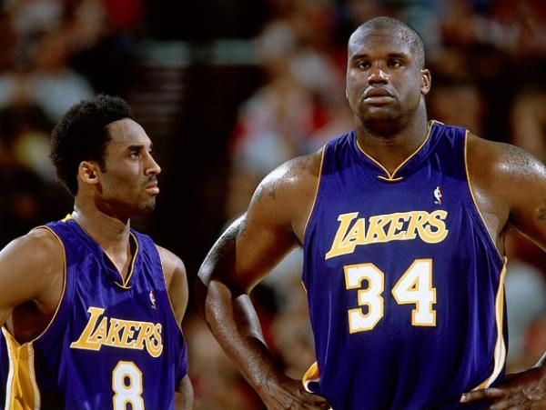 Shaquille O'Neal brought Kobe Bryant on his new podcast to talk up the ways they went wrong. Kind of.