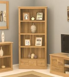 Mobel Oak Large 3 Drawer Bookcase http://solidwoodfurniture.co/product-details-oak-furnitures-3004-mobel-oak-large-drawer-bookcase.html