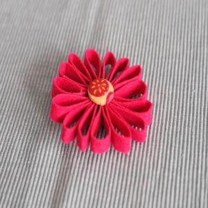 Pienk felt blom borsspeld  R45