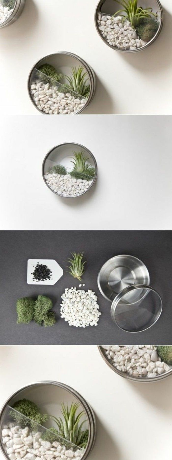 brattoli-in-latta-riciclo-fai-da-te-idea-giardino-miniatura-sassolini-piantine