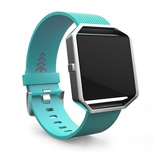 Fitbit Blaze Band Replacement Watch Bands Small Teal. Offered by Teak