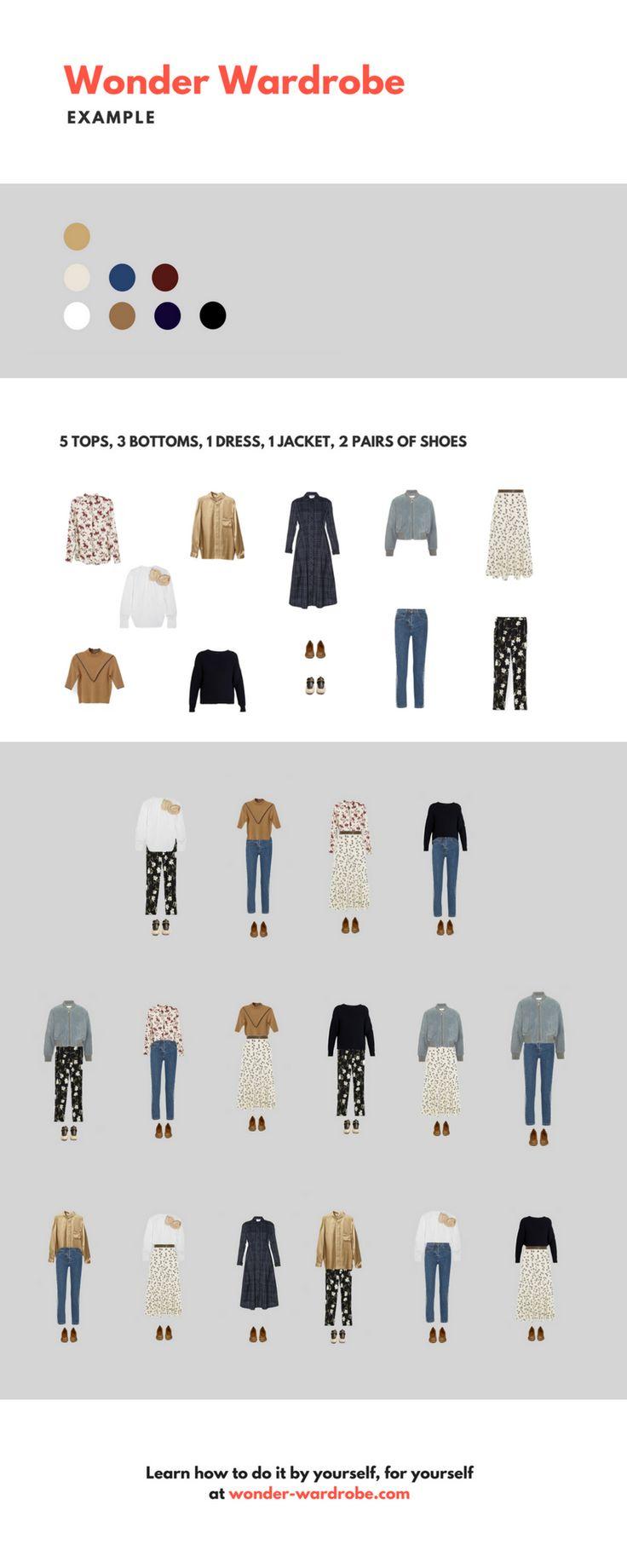 22 Best Capsule Wardrobe Examples. Images On Pinterest