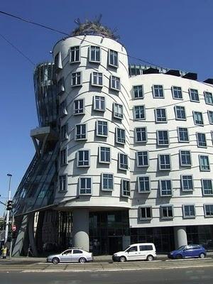 The Dancing House in Prague, #czechrepublic #beautifulplaces