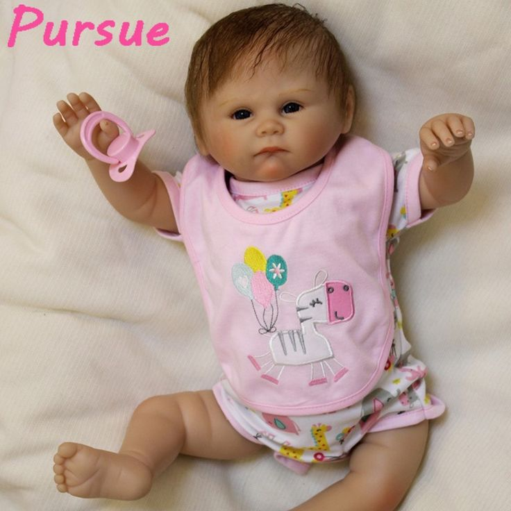 88.56$  Watch here - http://alirgx.shopchina.info/1/go.php?t=32805605329 - Pursue 53 cm Cheap Realistic Newborn Baby Dolls for Kids Silicone Baby Doll Reborn for Sale bebe reborn realistic baby doll 20  #aliexpressideas