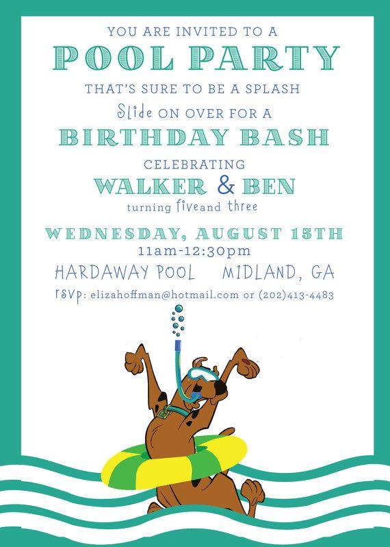 13 best Scooby Doo Birthday images on Pinterest Birthday