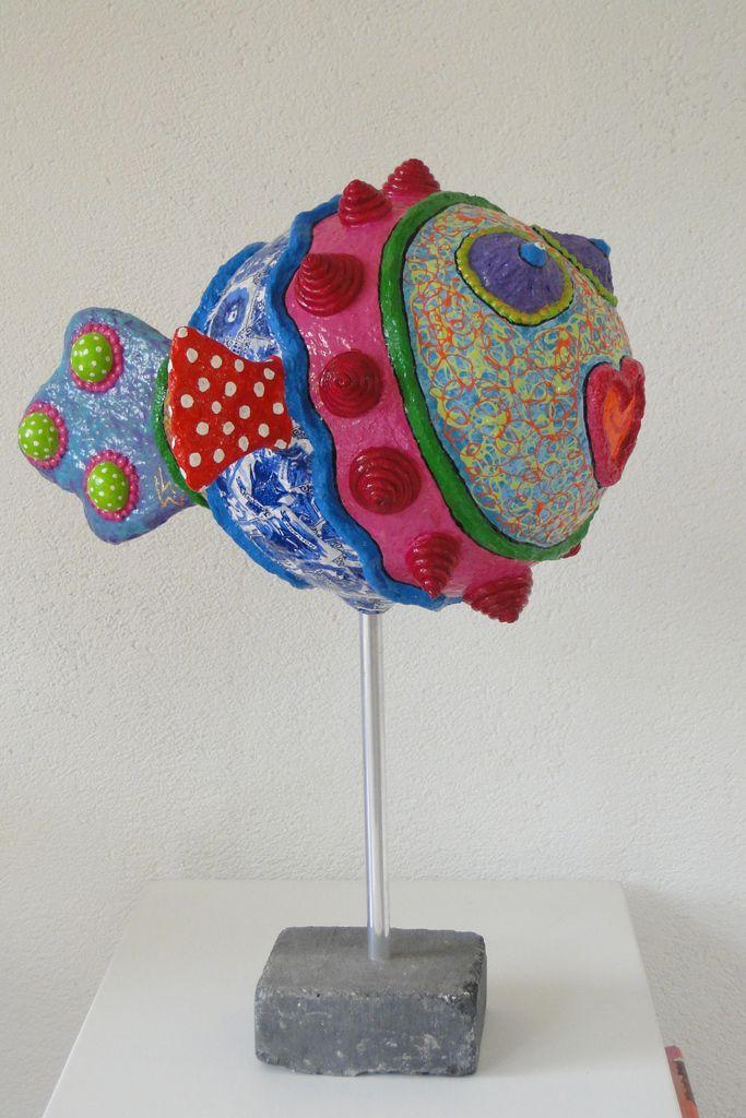 846 best crafts paper mache images on pinterest paper for Paper mache crafts