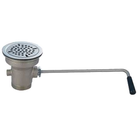 Commercial Sink Lever Waste Drain Twist Handle