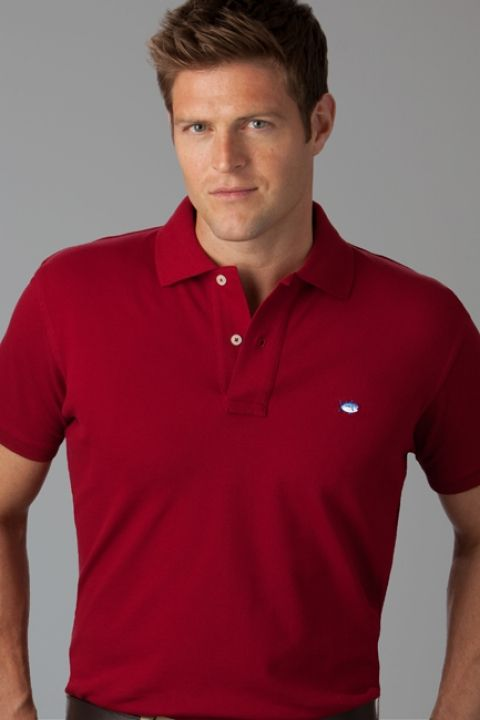 Southern Designer Clothes Men's Classic Skipjack Polo