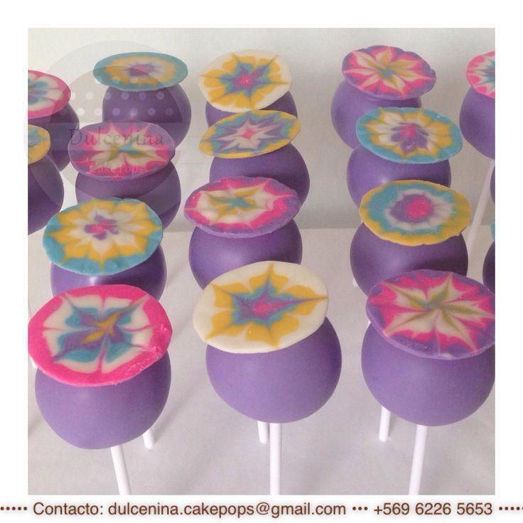 Cake Pops Mandala Batik