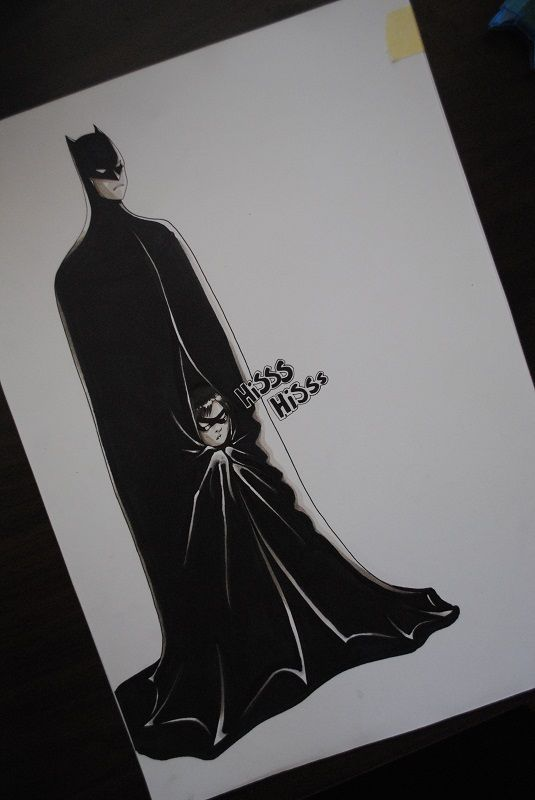dick grayson, Young Justice, Batman, Robin, Bruce Wayne, fan art.  lmaoo i love this
