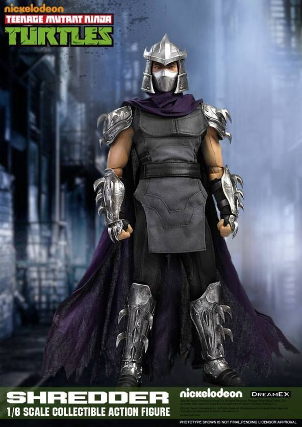 DreamEx Teenage Mutant Ninja Turtles TMNT Shredder 01