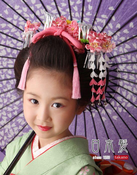 「七五三 日本髪」のすすめ|スタジオタカノ小岩(東京都江戸川区)