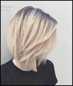 15 Long Stacked Bob Hairstyles – New Hairstyles 2018 – New Trend … – Perfect Hair
