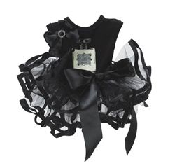$76.95 w/FREE SHIPPING - So glam and chic!  This LE CHIEN #DOG #TUTU is the perfect ensemble for your PETS to rock for your wedding or special event.  Available in #BLACK and #WHITE in sizes XS-L.  #PETS #doglovers #shop #dogs #gifts #fashion #puppies #wedding #weddingmarket #bridalmarket #brides #flowergirl #bridesmaid #tutu #couture #events #eventplanner #dress #cute #bow