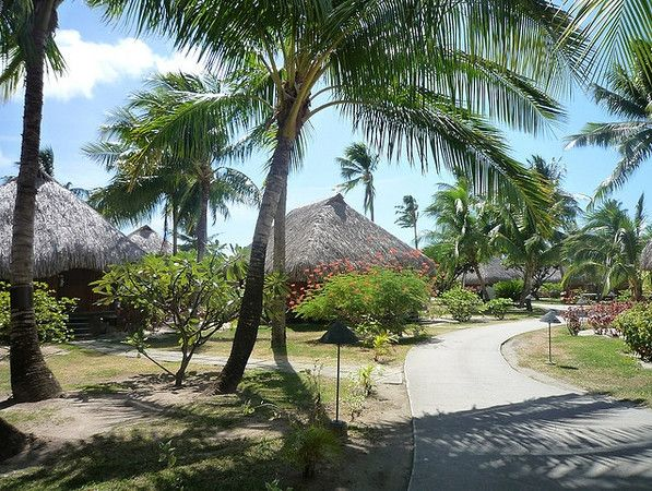 42 best hilton moorea lagoon resort images on pinterest for Garden pool bungalow intercontinental moorea
