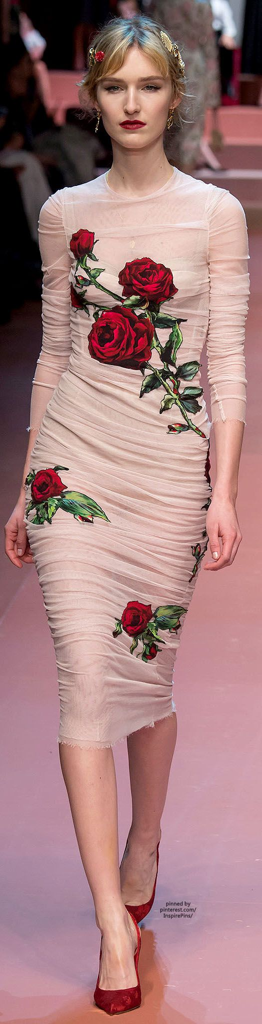 Dolce & Gabbana FW2015, love the large, graphic, tattoo-esque prints