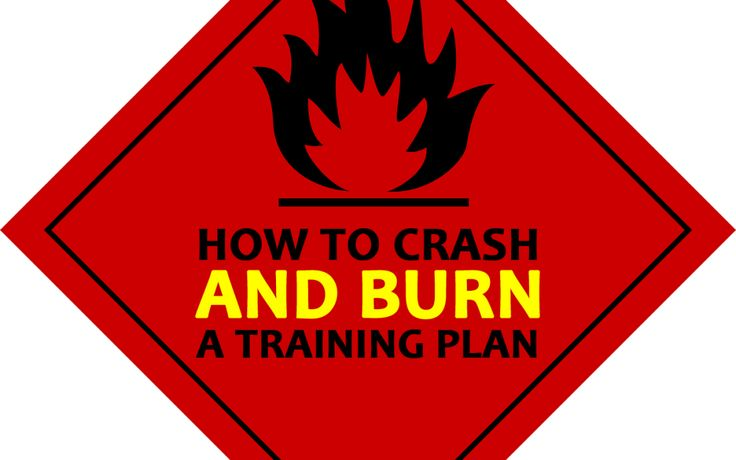 How to Crash and Burn a Custom Training Plan - KnowHoweLearning
