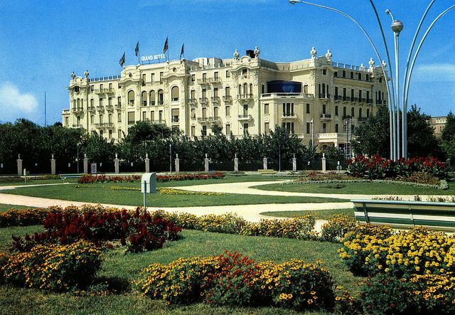 The Grand Hotel, Rimini, Italy. We stayed here in May of 2011.