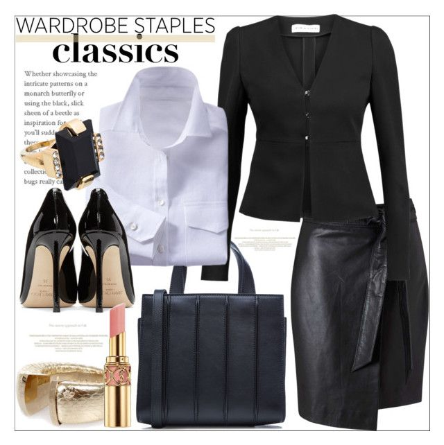 Wardrobe Staples by evachasioti on Polyvore featuring Sonia Rykiel, Miss Selfridge, Jimmy Choo, MaxMara, Marni, polyvorecontest and WardrobeStaples