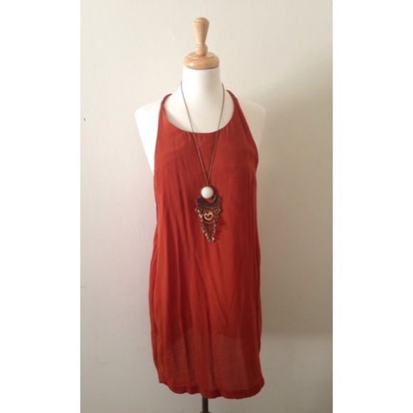 Cheap Monday dress dress by Cheap Monday.  - Made from 100% pure cotton  - Soft touch jersey fabric - Extreme racer back with dropped arm holes - Relaxed swing fit.  Size: Small.  Condition: Great Cheap Monday Dresses