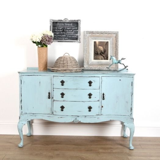 Upcycled Furniture From Ruby Rhino Blue Painted Sideboard Furniture Pinterest Upcycled