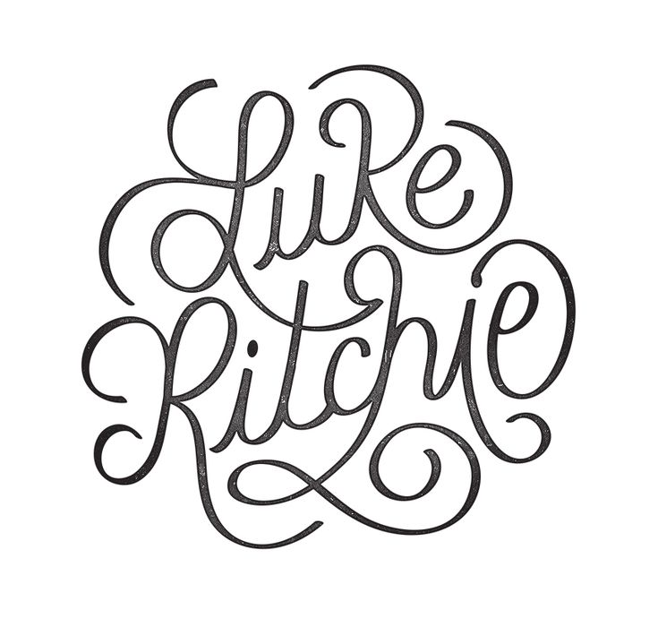 It's personal  by Luke Ritchie - #Lettering #Design #Inspiration