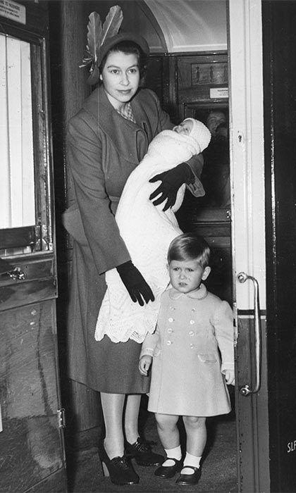 She was baptized Anne Elizabeth Alice Louise at Buckingham Palace on October 21, 1950. British royal baby photo album: Queen Elizabeth to Princess Charlotte