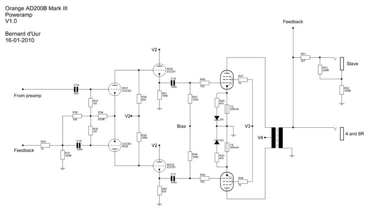 Orange AD200B Mark III Poweramp