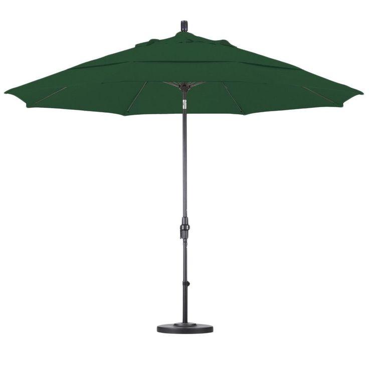 Lauren & Company Ultra Premium Sunbrella Patio Umbrella with Stand
