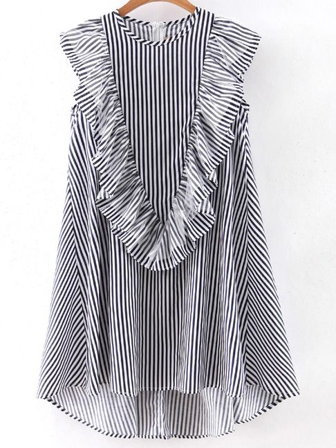 http://es.shein.com/Navy-Sleeveless-Ruffle-Dipped-Hem-Zipper-Dress-p-289114-cat-1727.html