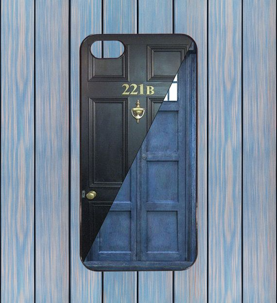 Sherlock Holmes doctor who tardis baker street iphone case