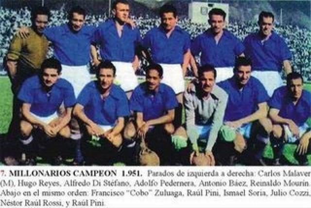 1951 Millonarios de Colombia