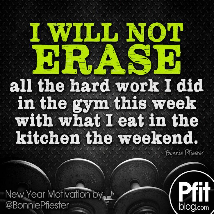 i will not erase my hard work!! #pfitblog #fitness #motivation