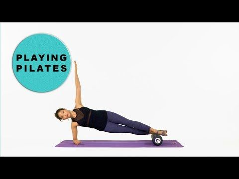 [Playing Pilates]폼롤러 전신운동 10min★Form Roller Full Body Workout[플레잉 필라테스] - YouTube