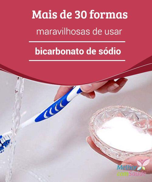 Bicarbonato de #sódio, mais de 30 formas maravilhosas de usar O #bicarbonato de sódio é um dos #produtos mais versáteis que existem e não pode faltar em nossas #casas. Aproveite estas dicas para facilitar sua vida.