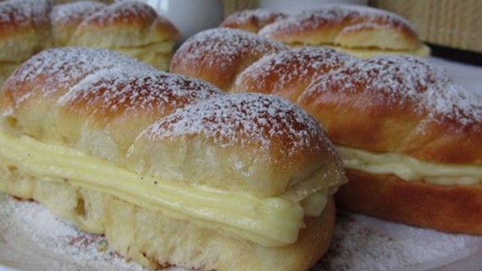 Lahodné mini-koláče plnené fantastickým vanilkovým krémom! Pripravené za 30 minút!