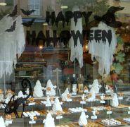 Kit de Vinilos Adhesivos Especial Hallowen - Decoración, decoración de fiestas, decoración de escaparates, decoración de eventos