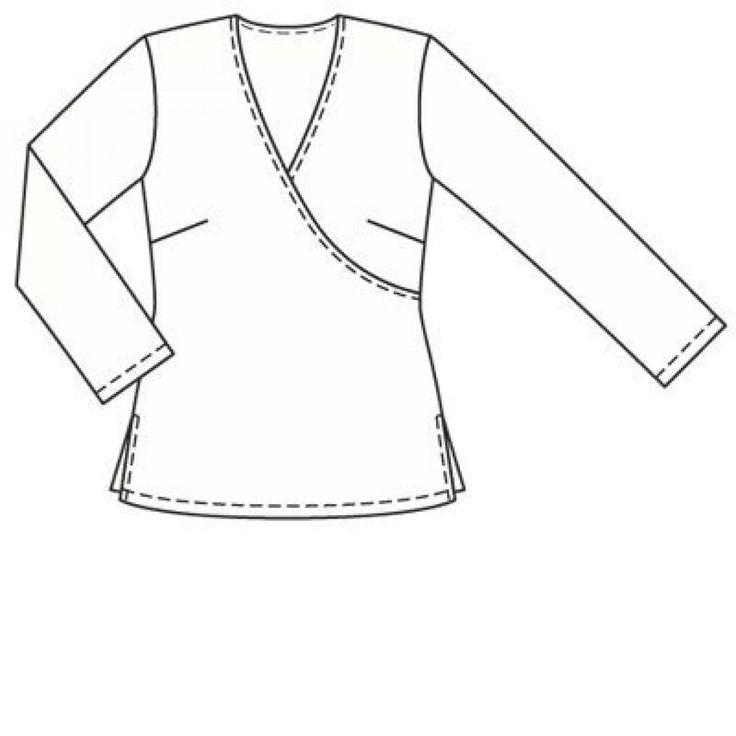 Пуловер: Burda Мода для полных 2/ 2007/ 412 / Burdastyle