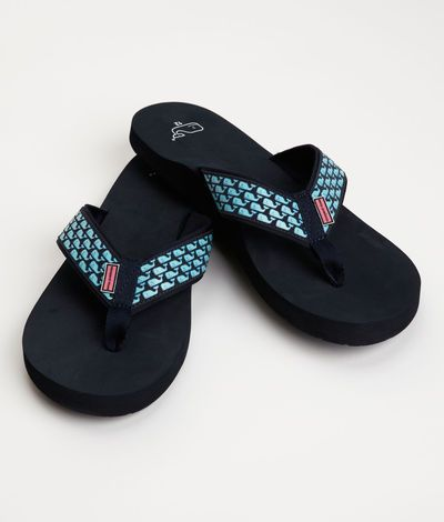 Men's Flip Flops and Sandals: Whale Flip Flops for Men - Vineyard Vines