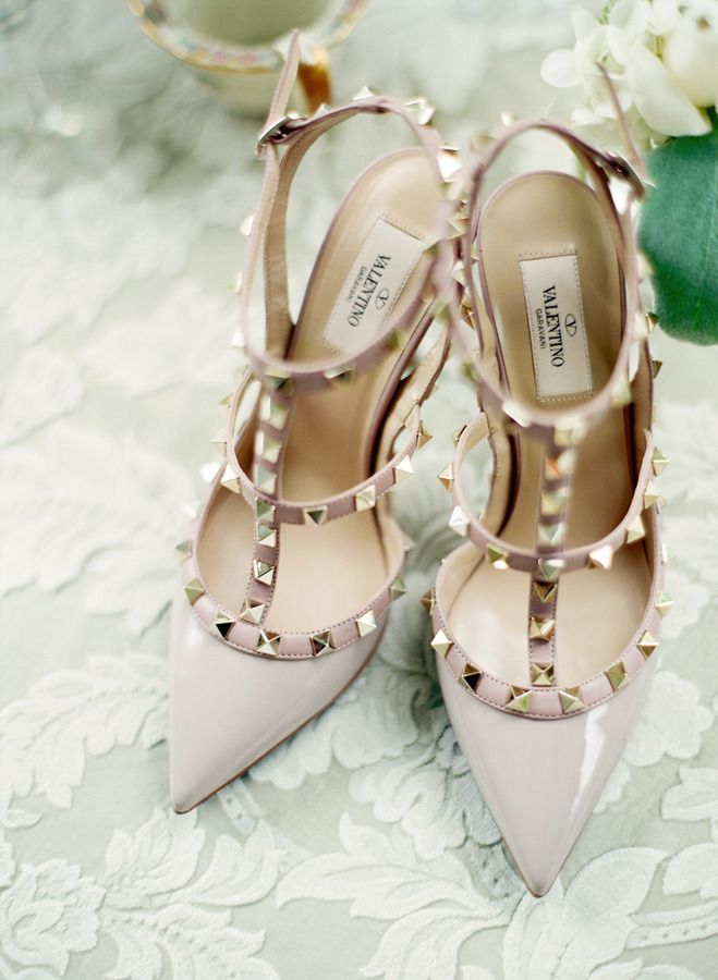 #valentino spiked #shoe love  Photography: Stacy Able - stacyable.com  Read More: stylemepretty.com...