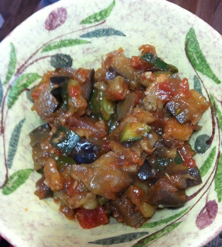 I love eggplant and I have a hundred ideas on how to use it. This dish is so fresh and tangy that you will make it again and again, yet use it in so many different ways. You can use this as a relish on hot crusty bread or as a pasta topping, you decide! I like to use it as a side dish to meat or fish. If you blend it in a blender and cool it, it can also be a dip that you can bring out with your favourite crackers when you have friends or family over.