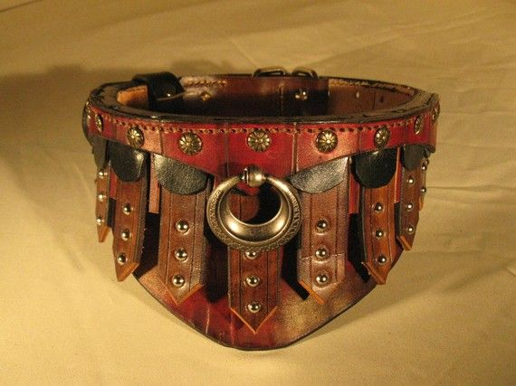 Gladiator Collar | Leather, Cane corso and Collars