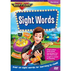 Sight Words (Rock `N Learn) $13.99: Sight Words, School, Dvd, Learn Sight, Rocks, Kid