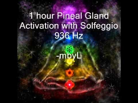 1 hour Pineal Gland Activation with 936Hz Solfeggio Meditation Music - YouTube