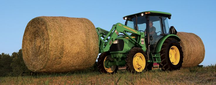 New John Deere Tractors | The hardest working utility tractors just got better and more ...