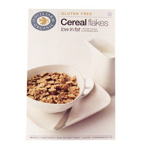 Doves Farm Organic Gluten Free Cereal Flakes 375g - http://sleepychef.com/doves-farm-organic-gluten-free-cereal-flakes-375g/